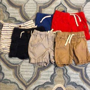 BabyGAP set of 6 shorts